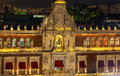 President S Palace Balcony Bell Zocalo Mexico City Mexico Night Stock Photos - 49148913