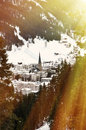 Davos, Famous Swiss Skiing Resort Royalty Free Stock Photography - 49184617