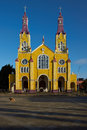 Historic Church Of Chiloé Royalty Free Stock Photography - 49192427