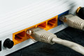 Wireless Routers And Networking Cable Royalty Free Stock Photo - 49193355