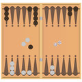 Backgammon Royalty Free Stock Photo - 49198295