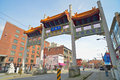 Millennium Gate In Vancouvers Chinatown,Canada. Royalty Free Stock Image - 49198906