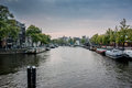 Amstel River In Amsterdam Stock Photos - 49234763