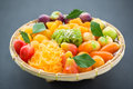 An Assortment Of Sweet Thai Desserts Stock Image - 49235861