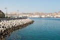 Sea Defences And Promenade In Muscat, Oman Stock Photography - 49242292