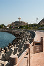 Sea Defences And Promenade In Muscat, Oman Royalty Free Stock Image - 49242306