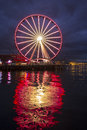 The Seattle Big Wheel Royalty Free Stock Photography - 49262937