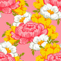 Abstract Elegance Seamless Pattern With Floral Elements Royalty Free Stock Photos - 49282148
