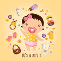 Its A Girl Royalty Free Stock Image - 49289006