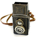 Antique Russian TLR Camera Royalty Free Stock Images - 4934419