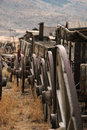 Wagon Train Royalty Free Stock Photos - 4935558