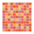 Orange And Pink Glass Tiles Royalty Free Stock Photos - 4938278
