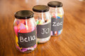 Glass Jars Stock Images - 49302784