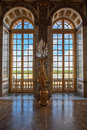Luxury Palace Glass Windows In Versailles Palace,  France Royalty Free Stock Photo - 49318235