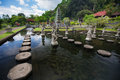 Tirtagangga Water Palace On Bali Island Royalty Free Stock Image - 49342156