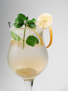 Cocktails Collection - Banana Punch Stock Images - 49344314