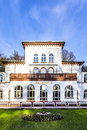 Kurhaus With Scenic Park In Bad Soden Royalty Free Stock Photography - 49364427