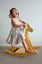 Wooden Rocking Horse Stock Images - 49369364