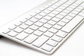 White Keyboard Stock Photos - 49378833