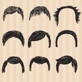 Mens  Collection For Hair Styling Stock Images - 49381624