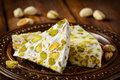 Turkish Delight. Arabic Dessert With And Stock Photo - 49383450