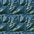 Seamless Abstract Pattern Of 3d Blocks Royalty Free Stock Photography - 49390417