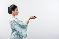 Tea Ceremony Conducted By Asian Woman Royalty Free Stock Images - 49391709