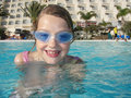 Swimming Girl Royalty Free Stock Images - 4940589