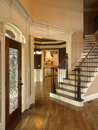 Luxury Foyer With Glass Door 3 Royalty Free Stock Photography - 4944477