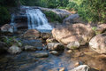 Spring Water Waterfall Royalty Free Stock Photography - 49403107