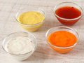 Sauces Royalty Free Stock Photo - 49412655