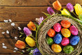 Easter Nest Royalty Free Stock Photos - 49415428