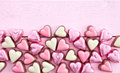 Colorful Chocolates In Heart-shape Royalty Free Stock Photos - 49422208