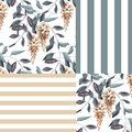 Abstract Elegance Seamless Pattern With Glicinia Flowers Backgro Royalty Free Stock Photos - 49446868