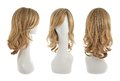 Hair Wig Over The Mannequin Head Royalty Free Stock Photo - 49452495