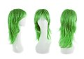 Hair Wig Over The Mannequin Head Stock Photography - 49455192