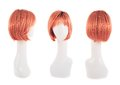 Hair Wig Over The Mannequin Head Stock Photo - 49455230