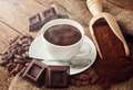 Cup Of Hot Chocolate Stock Image - 49456061