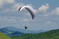 Paragliding Stock Image - 49465091