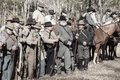 American Civil War Reenactment Stock Photography - 49472142
