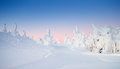 Winter At Lapland Royalty Free Stock Image - 49474286