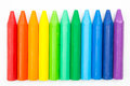 Colorful Crayons Royalty Free Stock Photo - 49483505