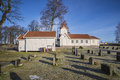 Hafslund Church (the Chapel & Church) Royalty Free Stock Photo - 49488285