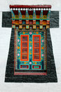 Painted Detail On Enchey Monastery Stock Photography - 4953102