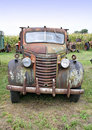 Old Truck Front Stock Image - 4957111