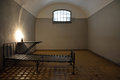 Dark Prison Cell In Peter And Paul Fortress Stock Images - 49515374