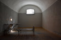 Dark Prison Cell In Peter And Paul Fortress Stock Images - 49515404