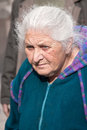 JERUSALEM, ISRAEL - MARCH 15, 2006: Purim Carnival. Portrait Of An Old Woman From The Crowd. Stock Image - 49537601