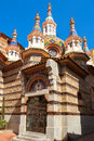 Church In Lloret De Mar. Spain Royalty Free Stock Image - 49540026