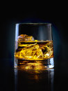 Glass Of Whiskey Royalty Free Stock Photography - 49546187
